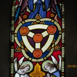 East Window - Trinity Detail #1