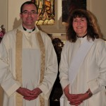 Dean Andrew and Revd Elaine