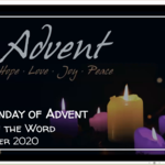 Sunday 13 December 2020 - Service of the Word