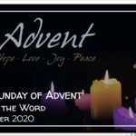 Sunday 20 December 2020 - Service of the Word