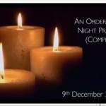 Wednesday 9 December 2020 - Meditation & Compline