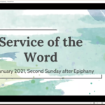 Sunday 17 January 2021 - Service of the Word