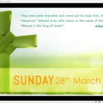 Sunday 28 March 2021 - Service of the Word