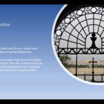 Wednesday 24 March 2021 - Prayer for Israel and Palestine
