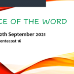 Sunday 12 September 2021 - Service of the Word