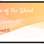 Sunday 5 September 2021 - Service of the Word